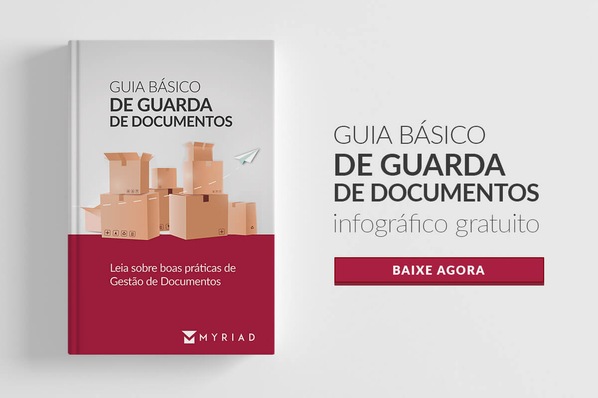 Infográfico Guarda de documentos - Myriad Brasil